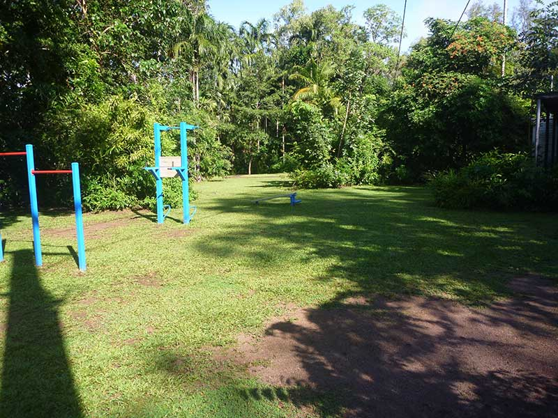 Grassed areas