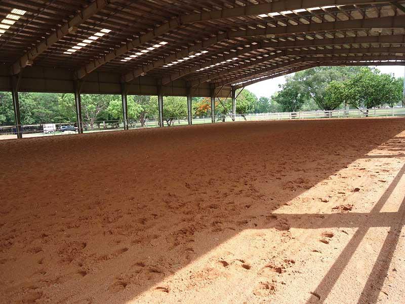 Indoor Sand Arena