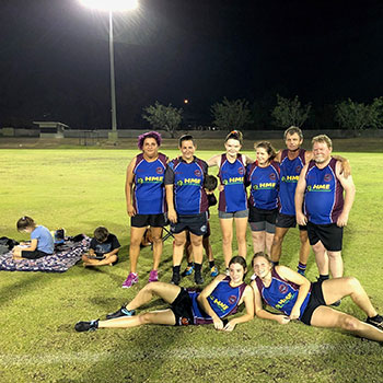 Humpty Doo Touch Football Team